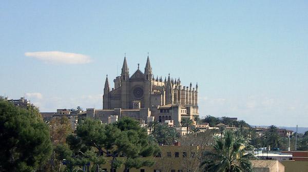 La Seu Kathedrale in Palma de Mallorca