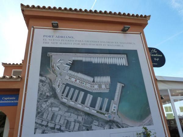 Infotafel Port Adriano