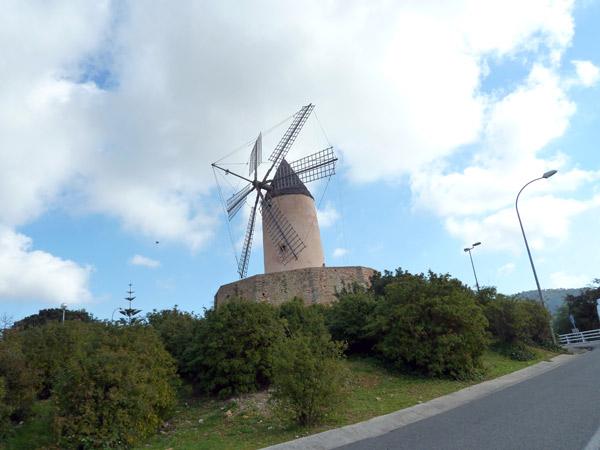 Windmühle in Santa Ponsa